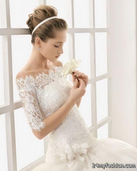 Bridal lace dresses