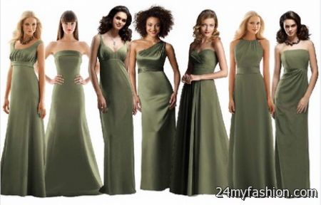Bridesmaid dresses different styles same color review