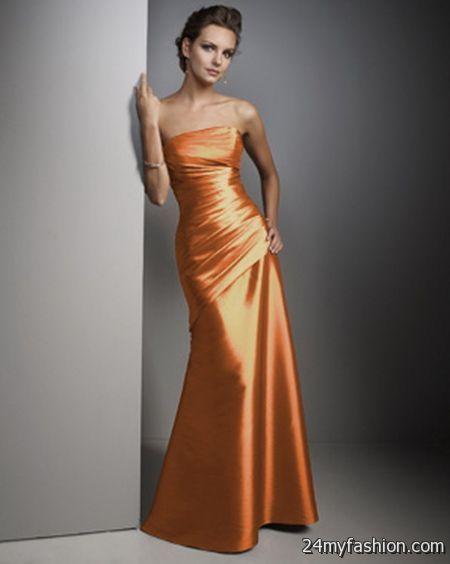 Burnt orange bridesmaid dress review