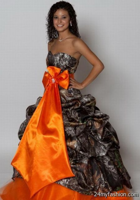 Camo ball gowns review