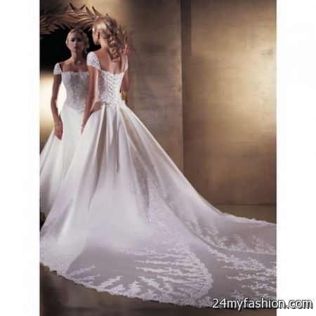 Cathedral train wedding gowns review