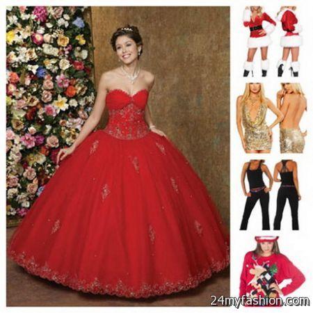 Christmas ball dress review