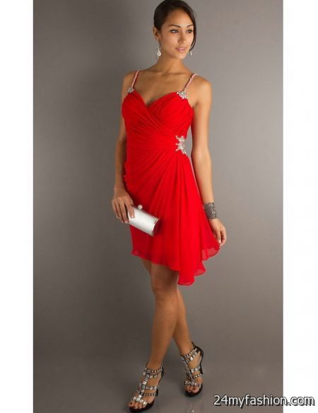 Cocktail dresses red review