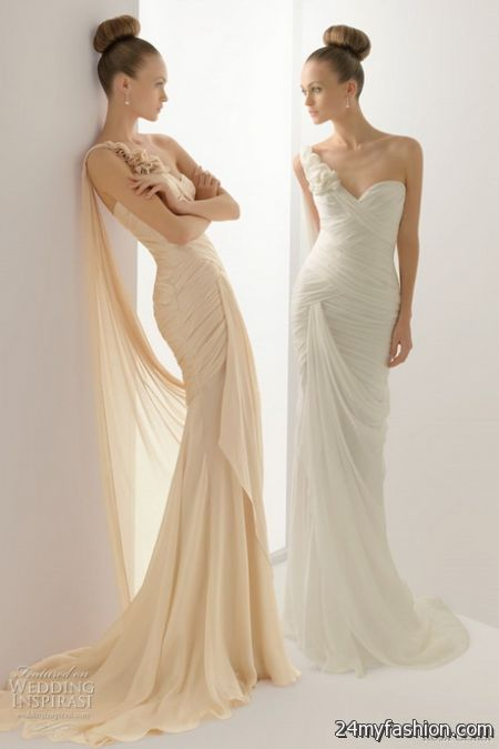 Color wedding gowns review