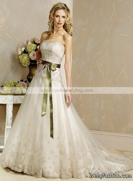Coloured bridal gowns review