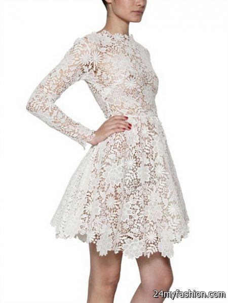 Cotton lace dresses