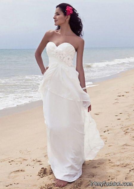 Destination beach wedding dresses review