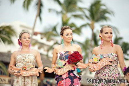 Destination wedding bridesmaid dresses review