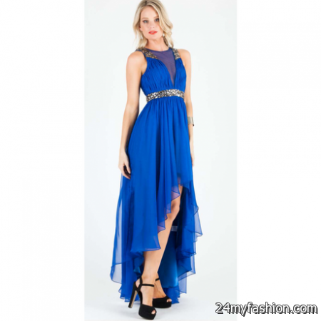 Electric blue maxi dress review