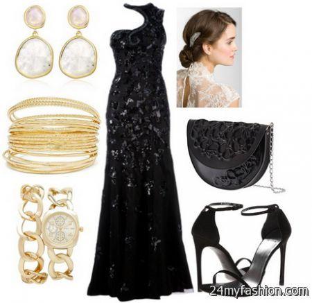Evening dresses accessories