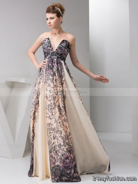 Evening gowns pictures