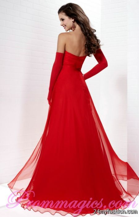Evening red dresses review