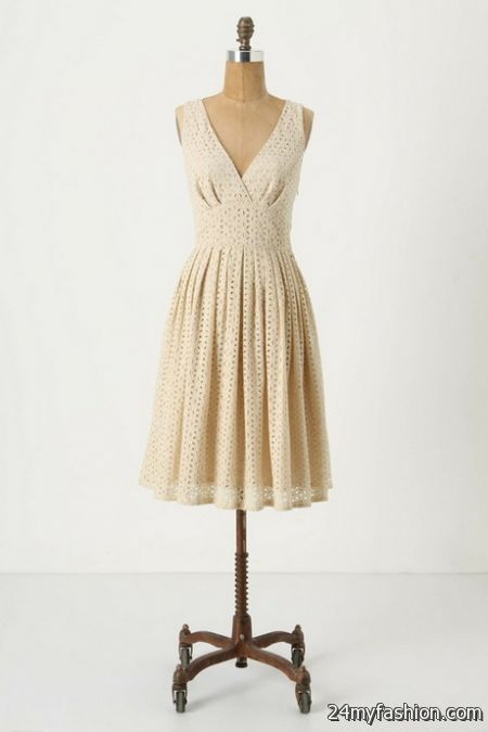 Eyelet lace dress review