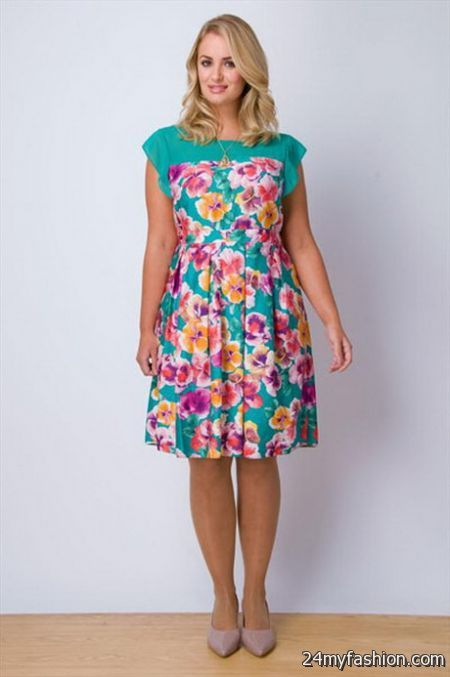 Floral plus size dresses review