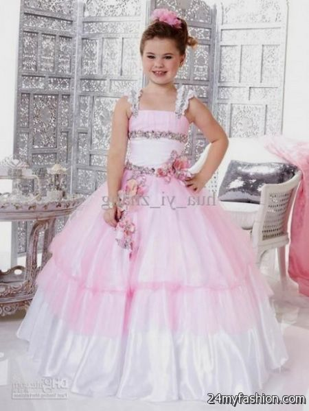 Girls pink party dresses review