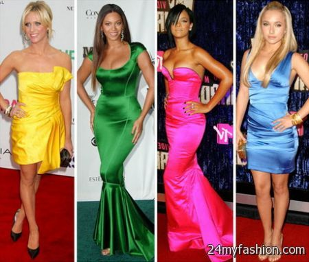 Hollywood red carpet dresses review