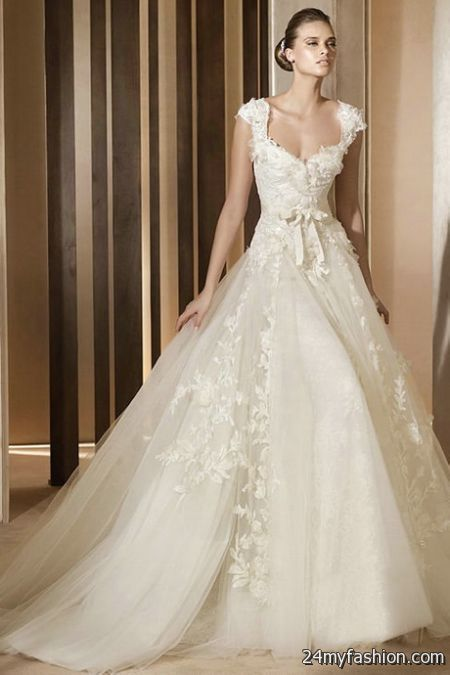 Ivory lace wedding dresses review
