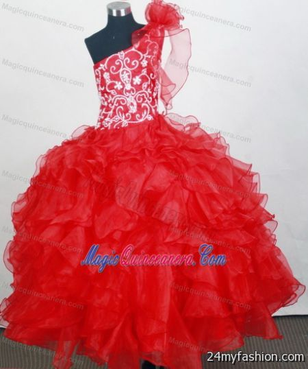 Kids red dresses review