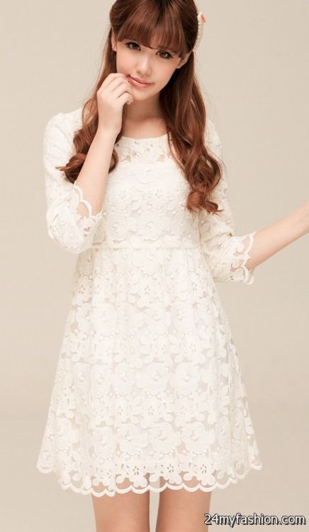 Korean lace dress review