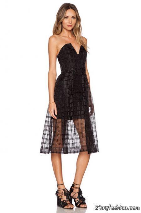 Lace bustier dress review
