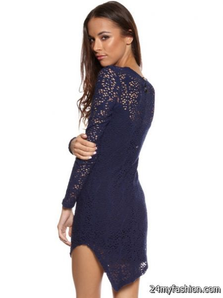 Lace dress navy review