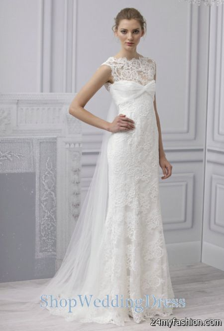 Lace wedding gowns designers