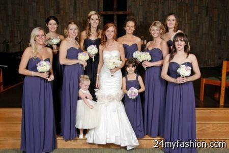 Lapis bridesmaid dresses