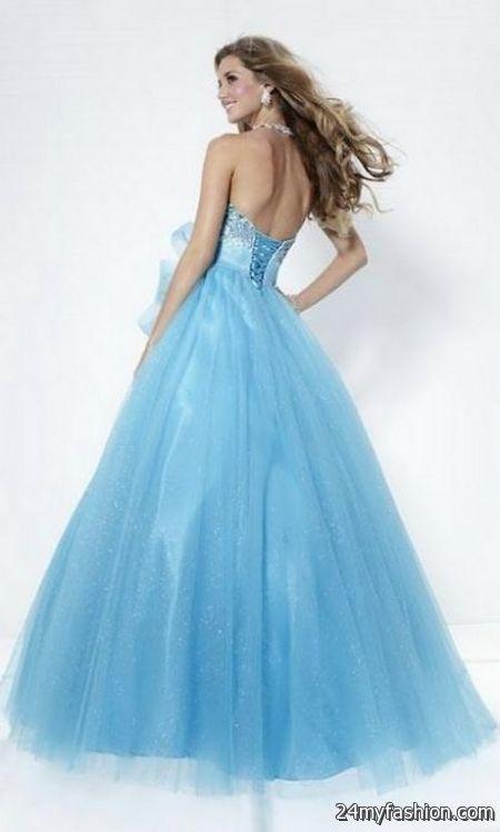 Light blue ball gowns review