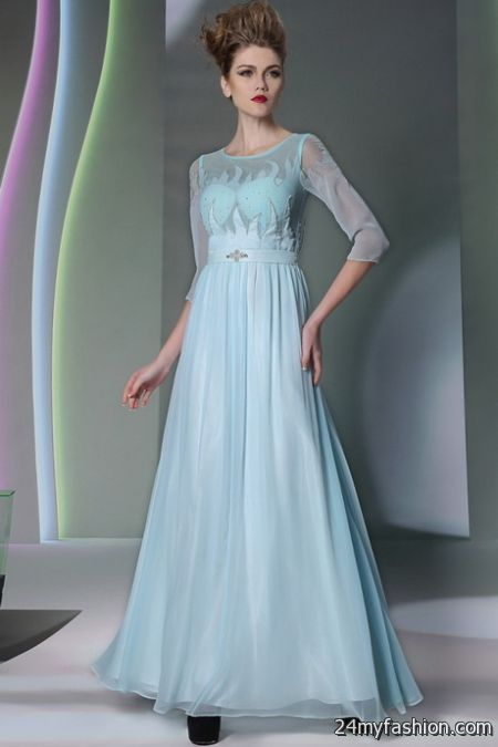 Light blue evening gowns review