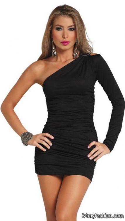 Little black mini dress