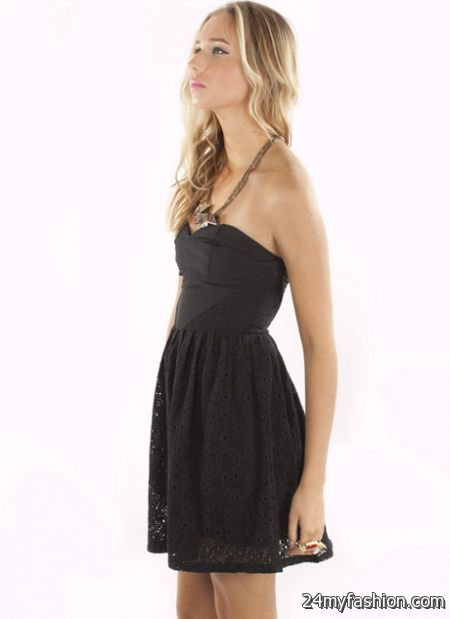 Little black strapless dress review