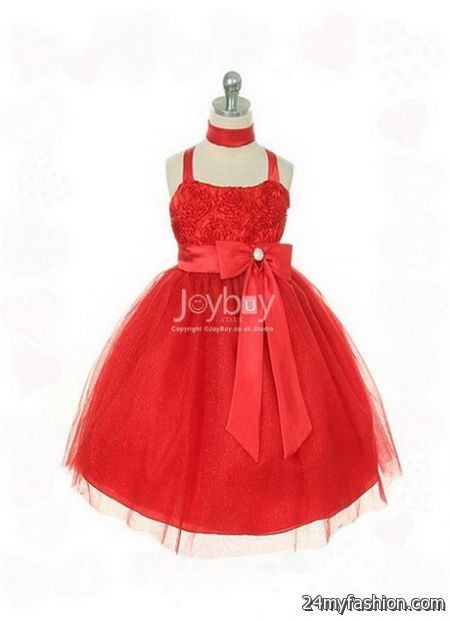Little girls red dresses review
