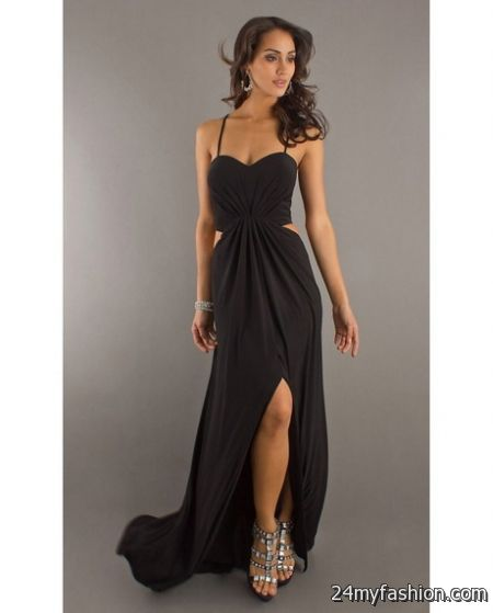 Long cocktail dresses for women