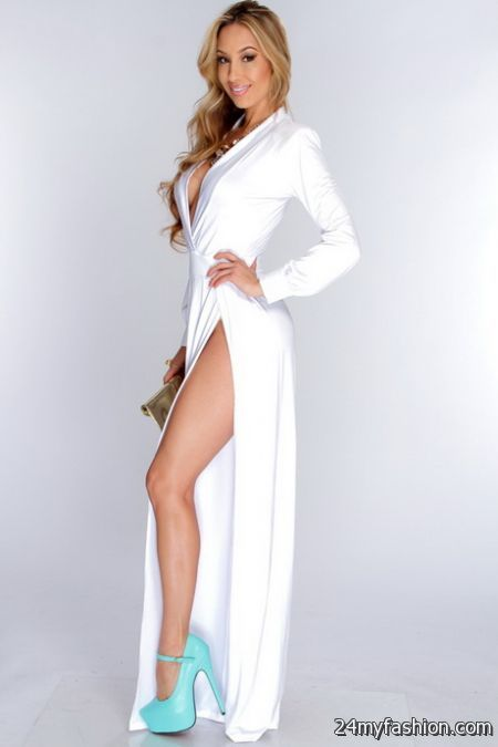 Long white maxi dresses review