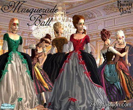 Masked ball dress review