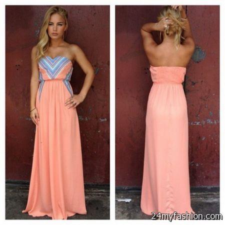 Maxi dress long