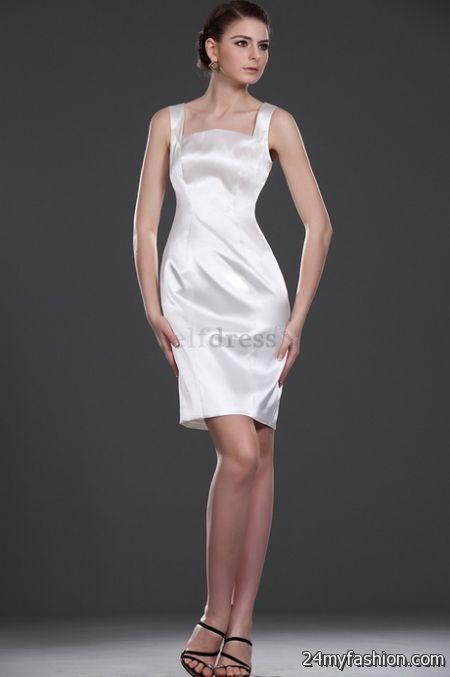 Misses white dresses
