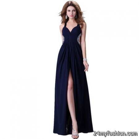 Navy ball gowns review