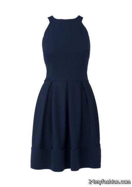Navy summer dress review
