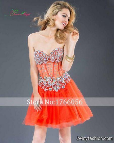 Orange semi formal dresses review
