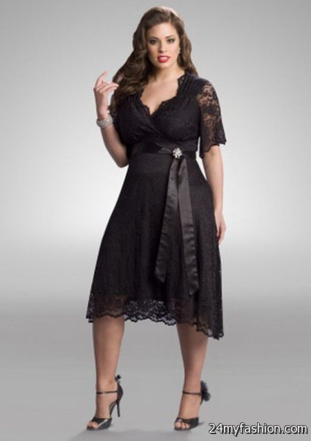 Plus size evening wear dresses