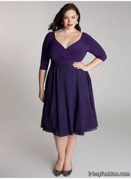 Plus size purple dresses review