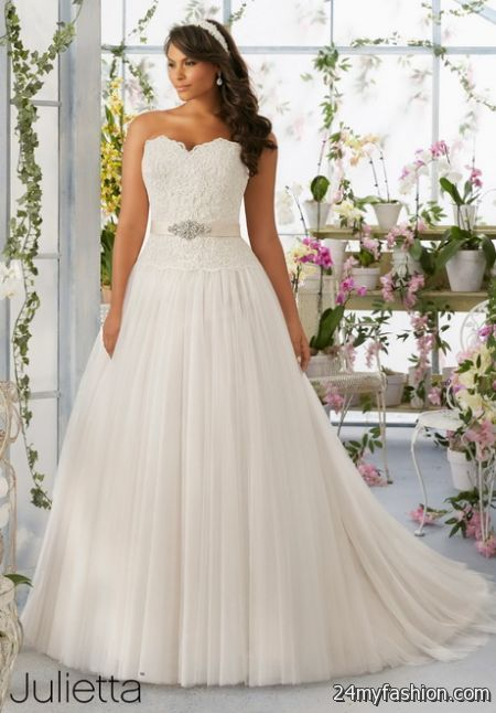 Plus sized bridal gowns review