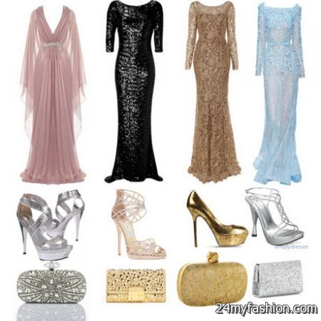 Polyvore evening gowns
