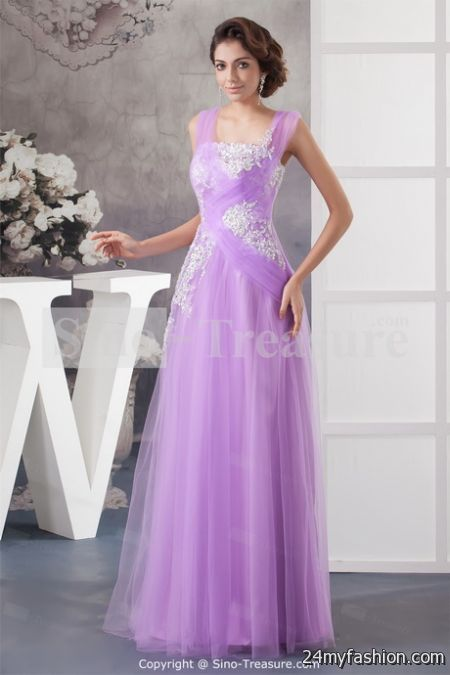 Purple party dresses for women