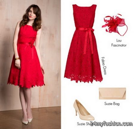 Red dresses for wedding guests review