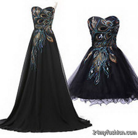 Retro ball gowns