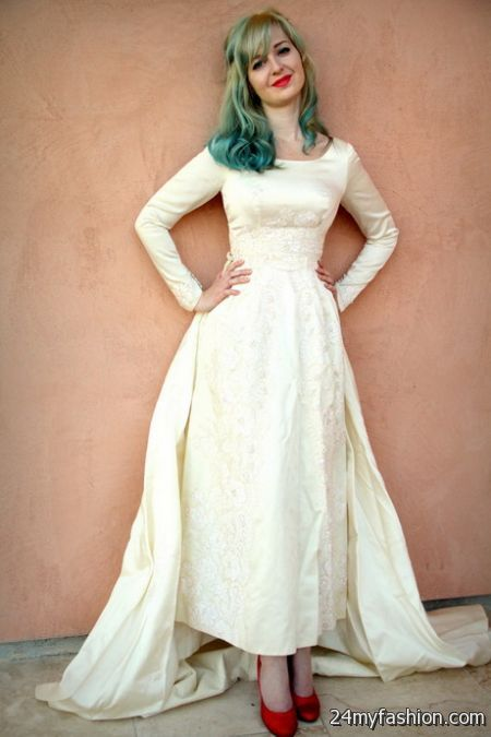 Retro wedding gowns review