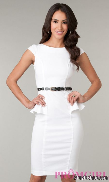 Semi formal white dresses review