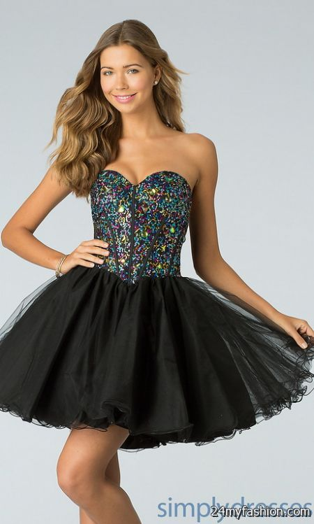 Short ball dress